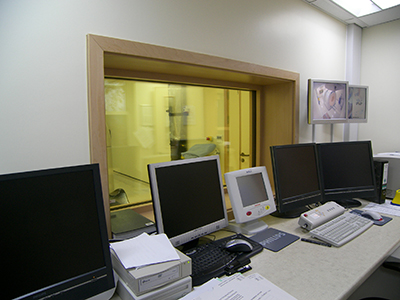 Control room window