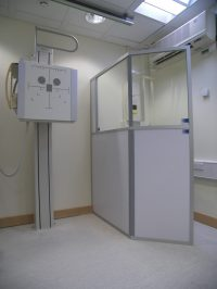 X Ray screen