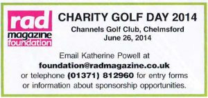 RADMag Golf Day