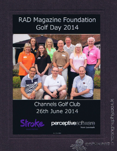 RadMag Golf Day Photograph