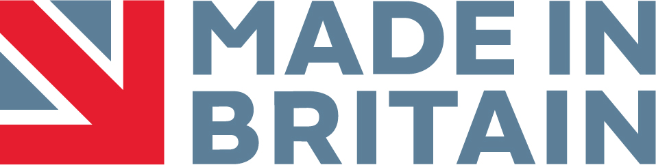Made in Britain Horizontal Stacked Marque