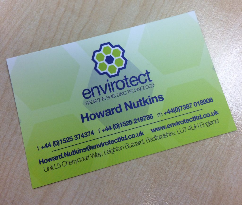Envirotect Howard Nutkins Contracts Manager