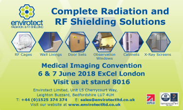 133 x 80mm Envirotect Advert Medical Imaging Convention A6